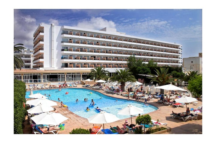 Caribe Hotel in Es Cana, Ibiza, Balearic Islands