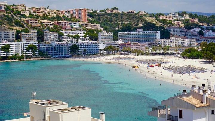 Playas del Rey in Santa Ponsa, Majorca, Balearic Islands