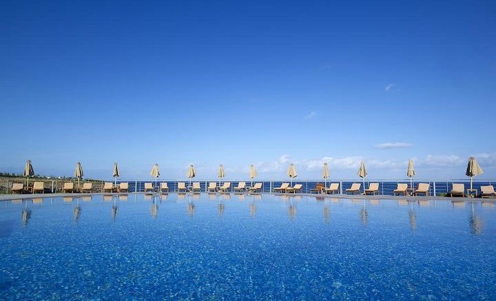 The Royal Blue Luxury Beach Resort in Panormo, Crete, Greek Islands