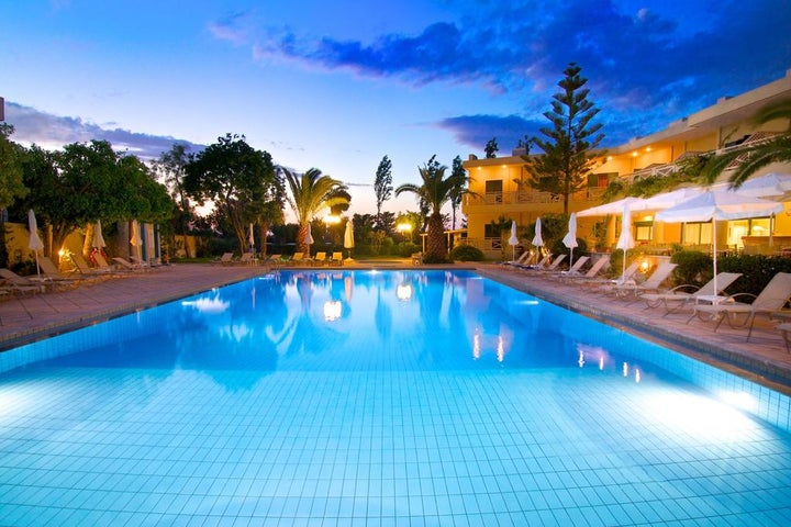 Solimar Ruby Hotel in Malia, Crete, Greek Islands