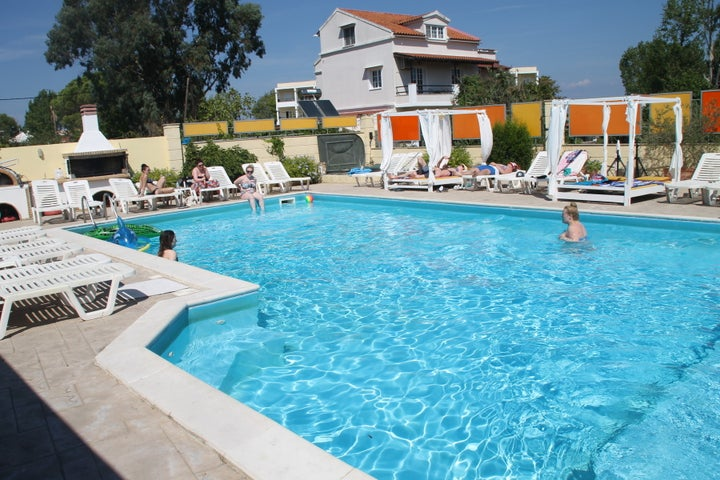 Antony's Complex in Kavos, Corfu, Greek Islands