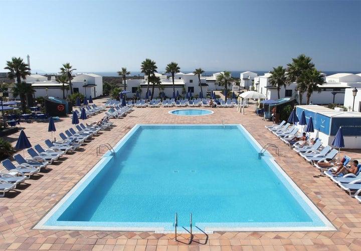 Vik Coral Beach in Playa Blanca, Lanzarote, Canary Islands