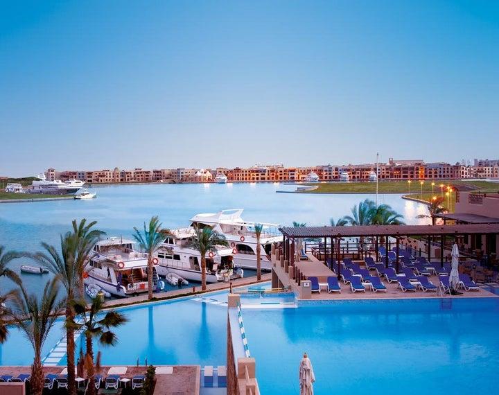 Marina Lodge at Port Ghalib in Marsa Alam, Red Sea, Egypt