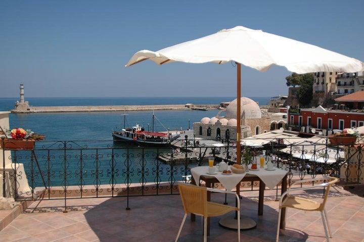 Belmondo in Chania Town, Crete, Greek Islands