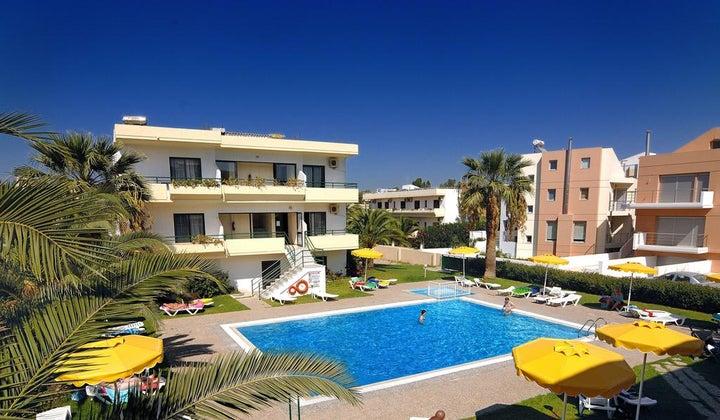 Anita Aparthotel in Ialyssos, Rhodes, Greek Islands