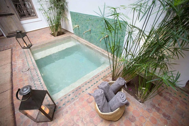 Riad Altair in Marrakech, Morocco