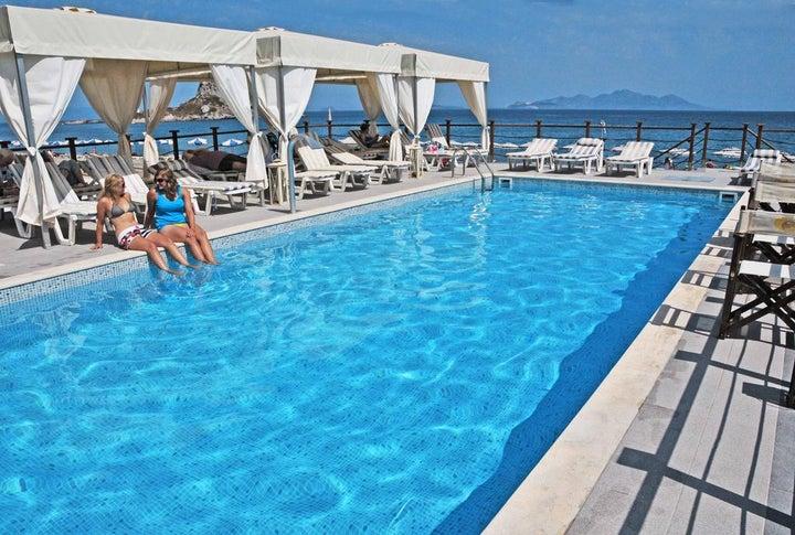 Sacallis Inn in Kefalos, Kos, Greek Islands