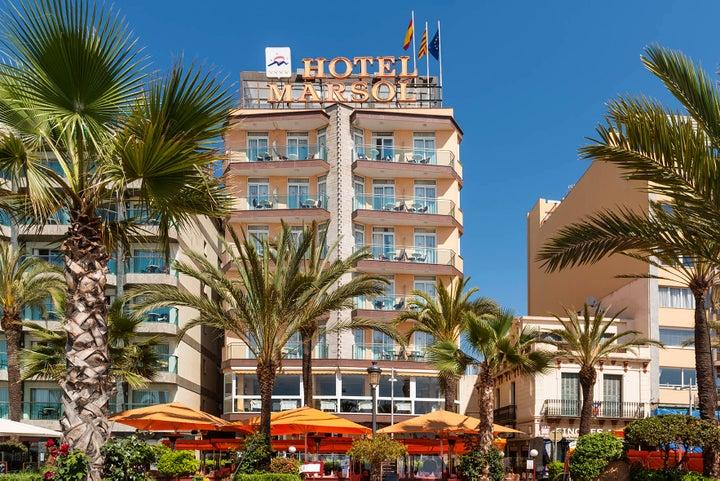 Marsol Hotel in Lloret de Mar, Costa Brava, Spain