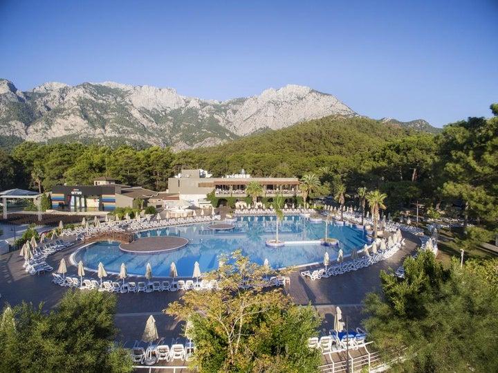 Kimeros Park Holiday Village in Kemer, Antalya, Turkey