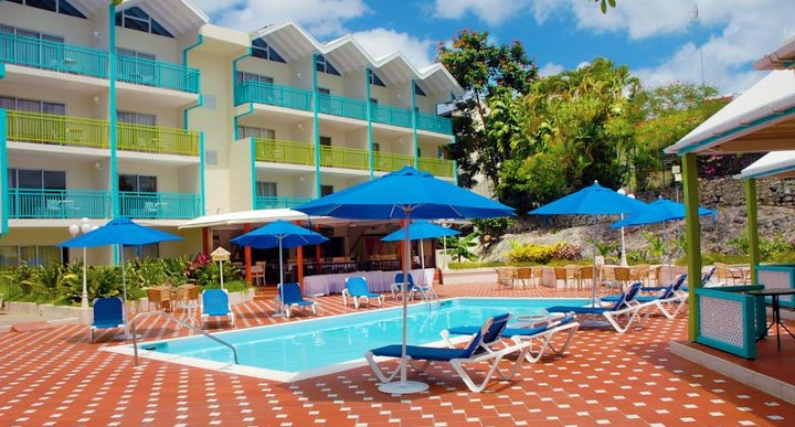 Blue Horizon Hotel In Christchurch Barbados