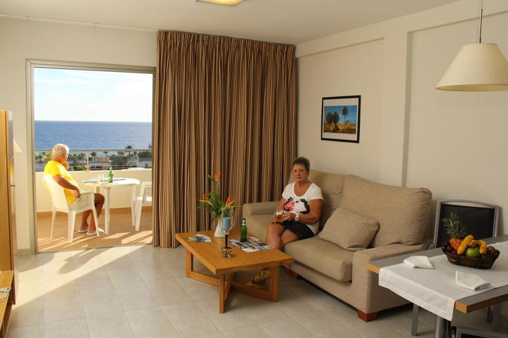 Alameda De Jandia in Morro Jable, Fuerteventura, Canary Islands