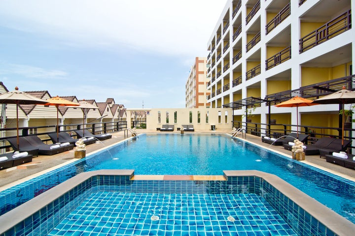 Golden Sea Pattaya Hotel in Pattaya, Thailand