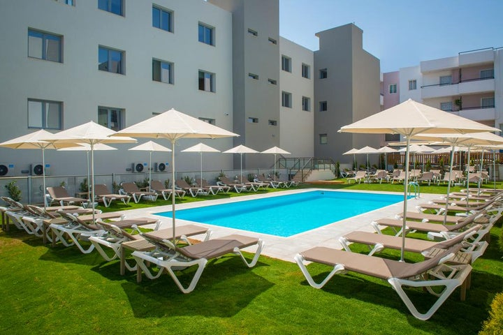 The City Green Hotel (Adult only) in Hersonissos, Crete, Greek Islands
