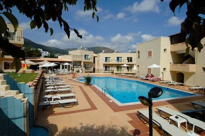 Rainbow Apartments in Stalis, Crete, Greek Islands