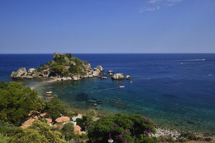 La Plage Resort in Taormina, Sicily, Italy