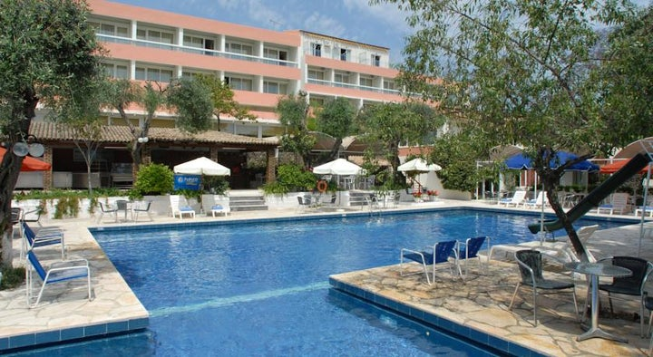 Alexandros Hotel in Perama, Corfu, Greek Islands
