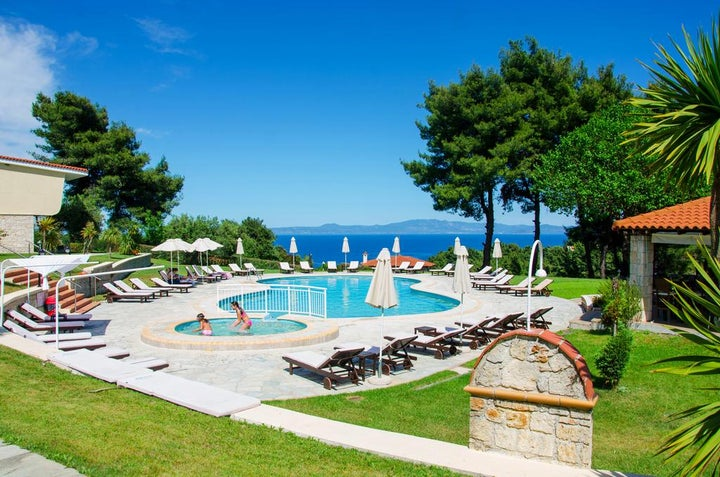 Alkion Resort in Kriopigi, Halkidiki, Greece