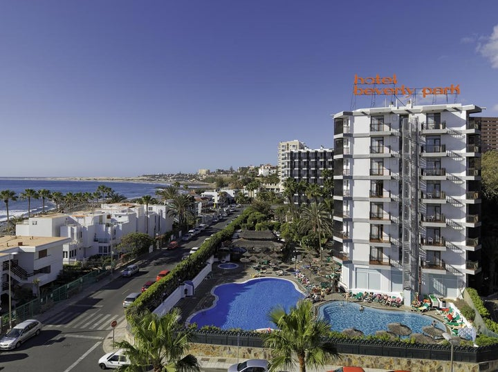 Beverly Park Hotel in Playa del Ingles, Gran Canaria, Canary Islands