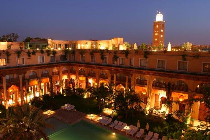 les jardins de la koutoubia in Marrakech, Morocco