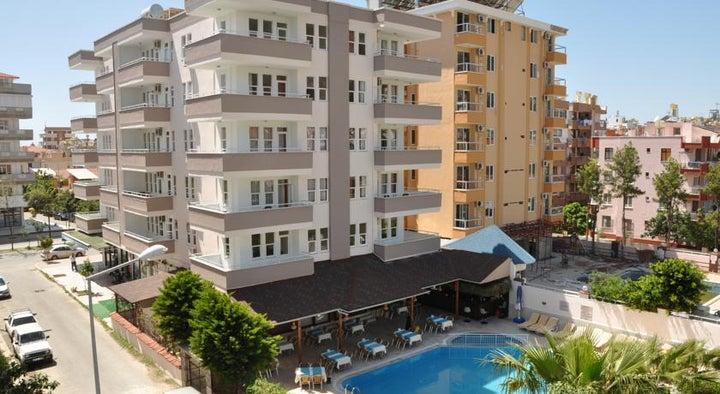 Kleopatra South Star in Alanya, Antalya, Turkey