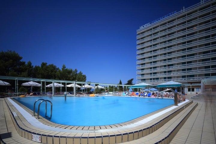 Hotel Dalmacija in Makarska, Central Dalmatia, Croatia