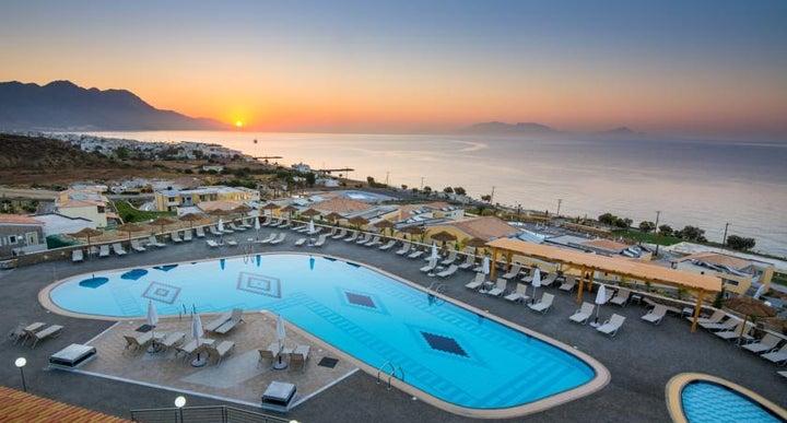 Grand Blue Beach In Kardamena Kos Greek Islands