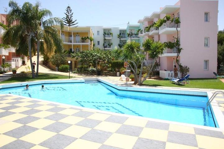 Bellos Hotel Apartment in Hersonissos, Crete, Greek Islands