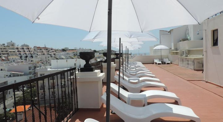 Albufeira Beach Hotel in Albufeira, Algarve, Portugal