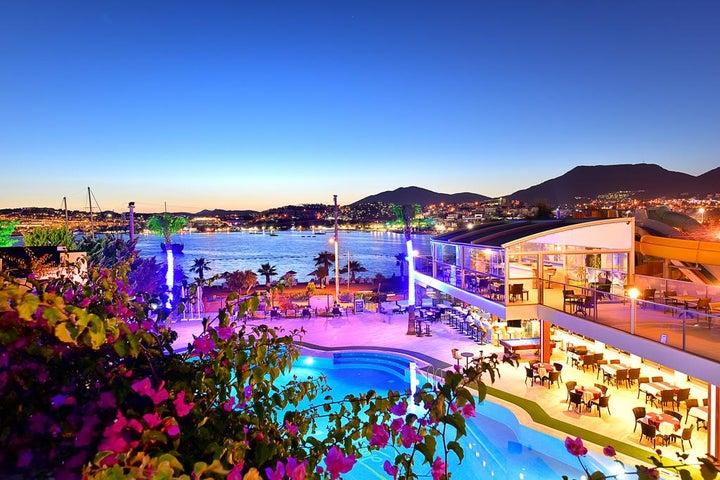 Tropicana Beach Apartments in Gumbet, Aegean Coast, Turkey