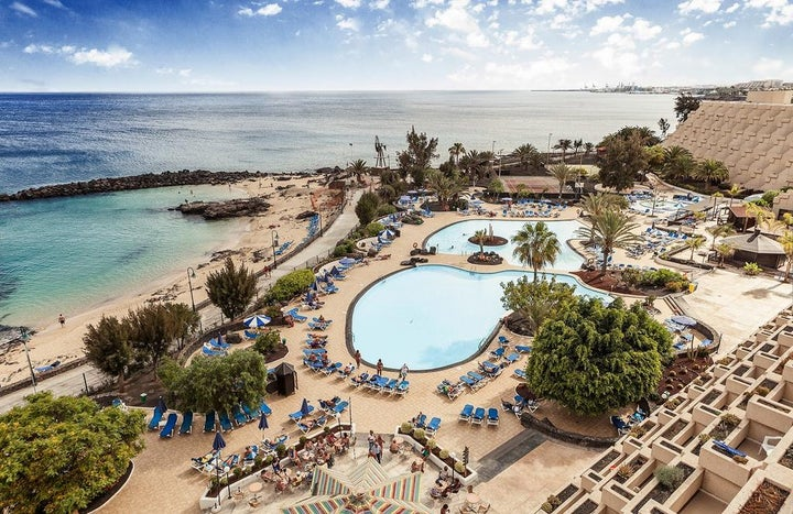 Grand Teguise Playa Hotel in Costa Teguise, Lanzarote, Canary Islands