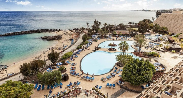 Grand Teguise Playa Hotel In Costa Lanzarote Canary Islands