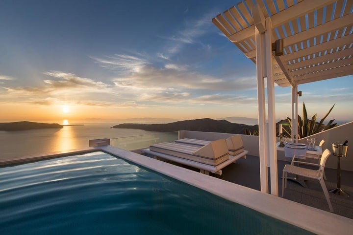 Andromeda Villas & Spa Resort in Imerovigli, Santorini, Greek Islands