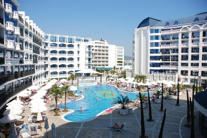 Chaika Beach Resort in Sunny Beach, Bulgaria