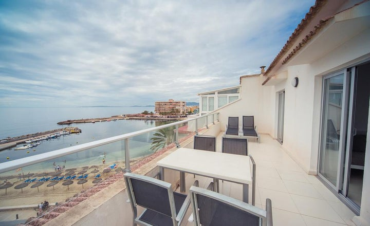 Embat in C'an Pastilla, Majorca, Balearic Islands