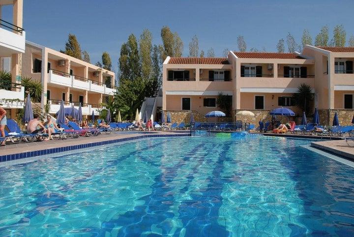 Oscar Hotel in Laganas, Zante, Greek Islands
