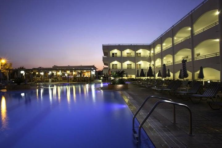 Orion Hotel in Faliraki, Rhodes, Greek Islands