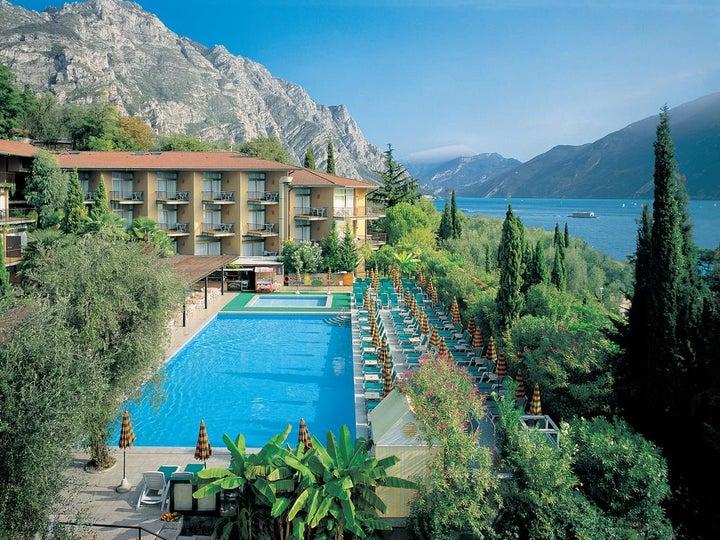 Leonardo Da Vinci Hotel in Limone, Lake Garda, Italy