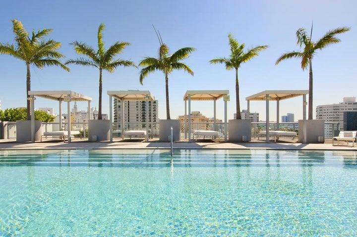 SBH South Beach Hotel in Miami Beach, Florida, USA