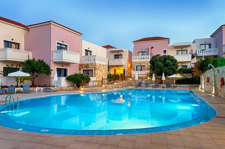 Adelais Hotel in Tavronitis, Crete, Greek Islands