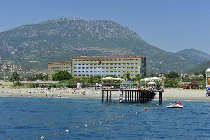 Dinler Hotel in Alanya, Antalya, Turkey