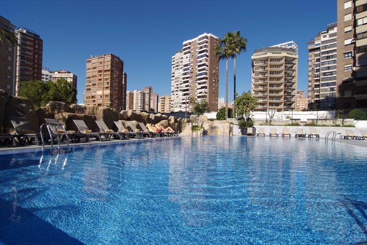 Sandos Monaco Beach Hotel & Spa in Benidorm, Costa Blanca, Spain