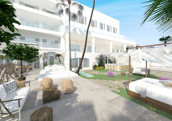 Pollentia Hotel Hoposa Adults Only in Puerto Pollensa, Majorca, Balearic Islands