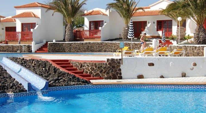 Castillo Beach Park (Bungalows) in Costa Caleta, Fuerteventura, Canary Islands