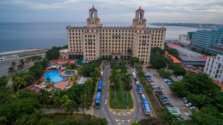 Hotel Nacional de Cuba in Havana, Cuba