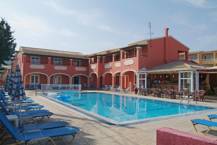 Luisa Aparthotel in Sidari, Corfu, Greek Islands