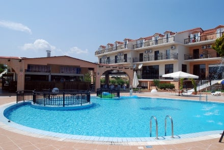 Hotel Alexander in Laganas, Zante, Greek Islands
