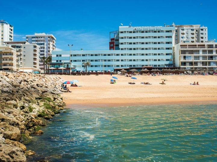 Dom Jose Beach Hotel in Quarteira, Algarve, Portugal