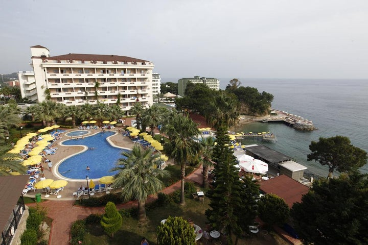 Aska Bayview Resort in Incekum, Antalya, Turkey