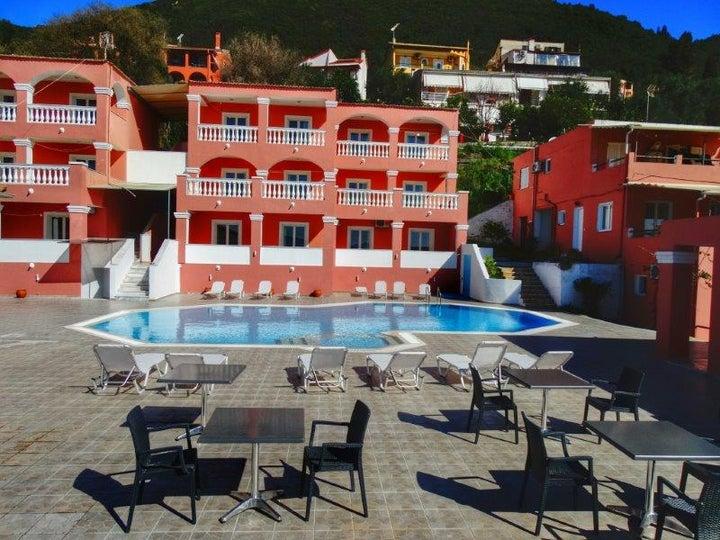 Paradiso Apartments in Ipsos, Corfu, Greek Islands