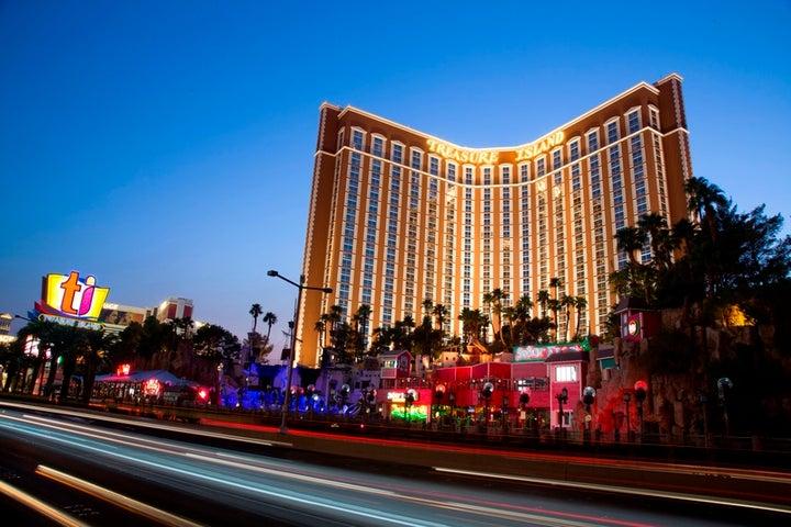 Treasure Island in Las Vegas, Nevada, USA